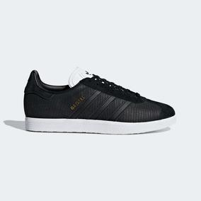best service b26ec 87885 Tenis adidas Originals Gazelle Negro