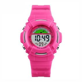 98bcff26df5 Relogio Digital Rosa Infantil - Relógios De Pulso no Mercado Livre ...