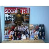 Revista Speakup Nr. 188 - Capa Elvis Presley - Nova, Com Cd
