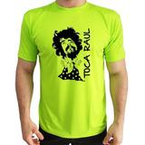 Camiseta Toca Raul Verde Polyester Personalizada