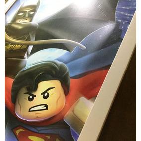 Poster Lego Batman - Super Heróis Quadro Decorativo