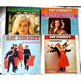 Lp Vinil Coleção Ray Connif 7 Discos Nas Capas Ótimo Estado