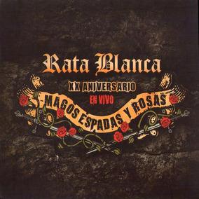 Cd Rata Blanca Magos Espadas Y Rosas Xx Aniver. Open Music
