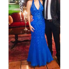 ca00d9d89f Vestido De Gala Cortos Azul - Mujer Vestidos en Ropa - Mercado Libre ...