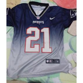 Playera Tipo Jersey Patriotas New England Con El Número 21 bc87ac0e1e5