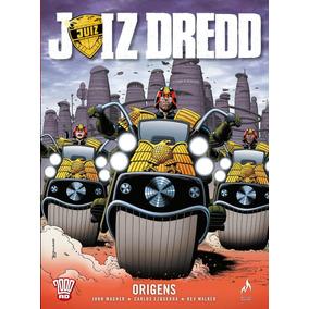 Hq - Juiz Dredd. Origens - Volume 1 - Capa Dura