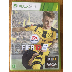Fifa 17 Xbox 360 Original Usado Mídia Física Frete Grátis