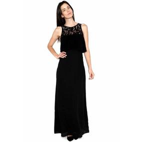 Lob- Vestido Negro Vestido Para Mujer
