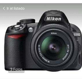 Cámara Fotográfica Profesional Nikon D3100