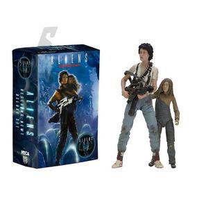 Neca Figura De Accion - Aliens - Rescuing Newt - Deluxe Set