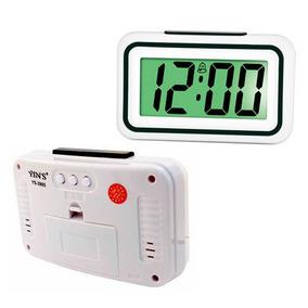 Relógio Digital De Mesa Plastico Despertador 12 Cm