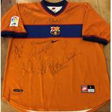 af9349a4b0 Camisa Barcelona Autografada Messi no Mercado Livre Brasil