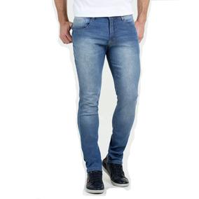 Calça Jeans Lycra Stretch Masculina Slin Plus Size