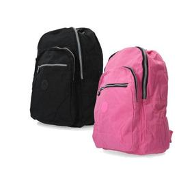 870257747 Mochila Kipling U.s.a. Challenger Backpack...envio Gratis - Mochilas Rosa  claro en Distrito Federal en Mercado Libre México