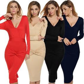 5bc4eeb8c Vestido Rojo Para Fiesta Largo - Vestidos Largos de Mujer Terracota ...