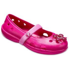 Zapato De Piso Crocs Niña Keeley Springtime