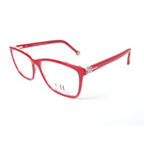 0a105ce90d59d Carolina Herrera Vermelho Armacoes - Óculos no Mercado Livre Brasil