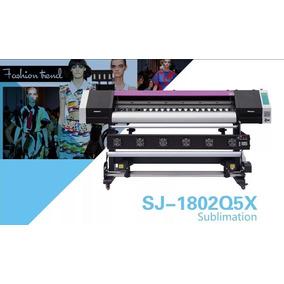 Plotter Textil De Sublimacion 2cabezal Epson Sj-1802q5x 1.8m