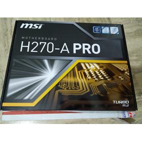 Tarjeta Madre Msi H270-a Pro (6gpu)