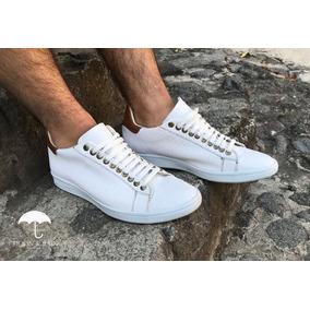 Tenis Sneaker Blancos Moon & Rain 100%
