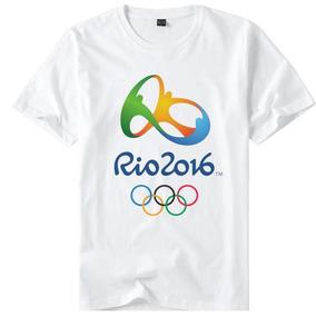 e1e0e57684 Camiseta Olimpiadas Rio 2016  Parabens - Camisetas Manga Curta no ...