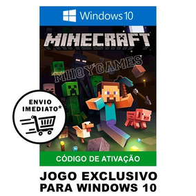 Minecraft Windows 10 Edition Original De Pc Key De Ativação