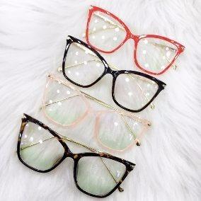 Oculos De Grau Feminino Grande Gatinha - Óculos Marrom no Mercado ... 25c7b279ee