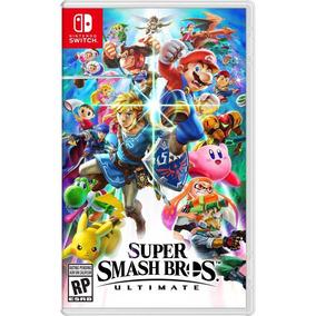 Jogo Super Smash Bros Ultimate Nintendo Switch Midia Fisica