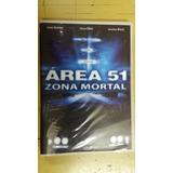 Dvd Area 51 Zona Mortal - Jackie Kreisler