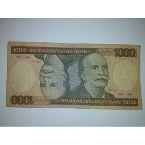 Cédula Nota Mil Cruzeiros Original - Colecione!