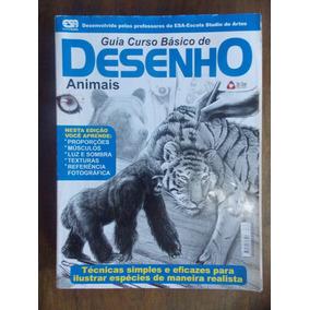 Revista Guia Curso Básico De Desenho: Animais