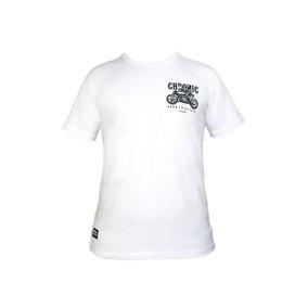 Camiseta Chronic Born To Be Free Original Street Branca