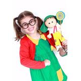 Fantasia Chiquinha Infantil C/ Óculos