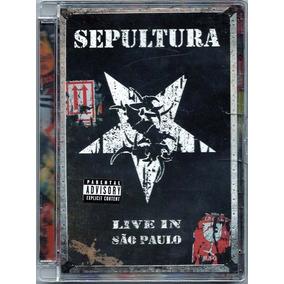 Sepultura Dvd Live In Sao Paulo (duplo) Americ Frete Gratis