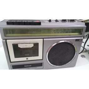 Rádio National Cassette Recorder Rx-1454w