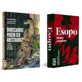 Kit Esopo & Dinossauros Podem Ser Adestrados ? Frete Grátis