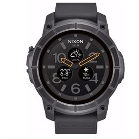 88fde11cf06 Nixon - The Mission Smartwatch 48mm Polycarbonate Bluetooth. R  2.779