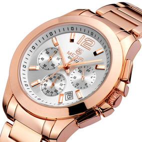 Reloj Cronos Acero Oro P/dama   Promoción: $2,700 -30%dto.