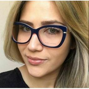 Lindo Oculos Da Moda Azul - Óculos De Sol no Mercado Livre Brasil f9b11fe250