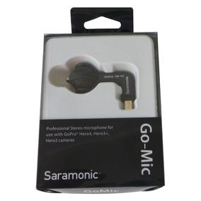 Saramonic Micrófono G-mic Para Cámaras Gopro Hero4, Hero3 +,