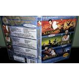 Box Dvds Sinbad E A Princesa - Olho Do Tigre - Nova Viagem