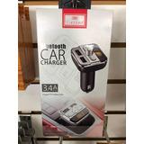 Transmisor Bluetooth Y Cargador Usb Por Frecuencia. Tienda