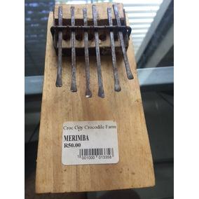 Kalimba/marimba Instrumento Tribu Zulu-sudafrica