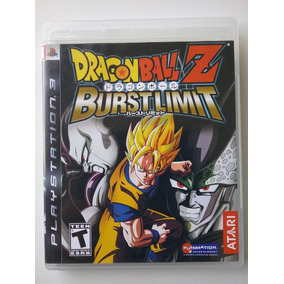 Dragon Ball Z Burstlimit Ps3 Mídia Física Original Usado
