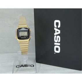 89a65e6a14f Relógio Casio Mini Diamond La670wgad-1df - Nf E Garantia