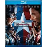 Blu Ray Capitão América Guerra Civil Envio Por Carta Incluso