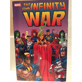 Guerra Infinita Marvel Completa Jim Starlin Thanos Importado
