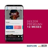Promoção Só Hoje ! Deezer Premium! 1 Ano! Com Garantia!
