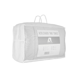 Acolchado Microfibra Reversible 2 Plazas 230x240 Atma Home