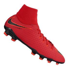 Botines Botita Nike Hypervenom Phelon Iii Df Fg Futbol Pasto 3e3141ec86293